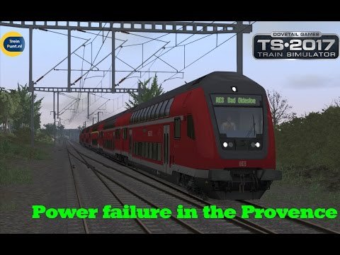 Power failure in the Provence | BR218 | Train Simulator 2017