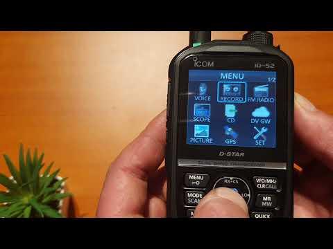 Icom ID52 First look!
