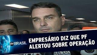 Empresário diz que PF alertou Flávio Bolsonaro sobre operação na ALERJ | SBT Brasil (18/05/20)