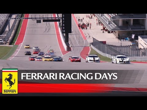 Ferrari Challenge 2018 ? Ferrari Racing Days at COTA: Recap