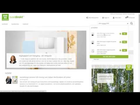 Video - Visa ingående artiklar i en struktur