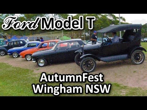 My 1925 Ford Model T - At AutumnFest, Wingham NSW