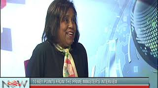 Minister Paula Gopee-Scoon on the Prime Minister's Interview