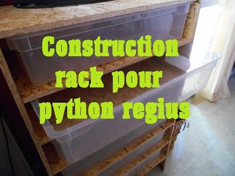 Fabrication Decor D Pour Serpent Python
