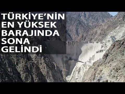 Yusufeli Barajı'nda Son 1 Ay