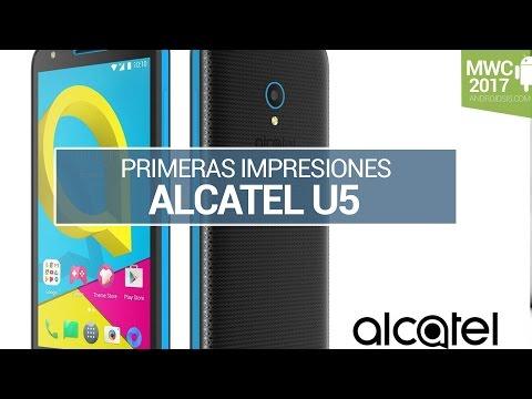 Alcatel U5, primeras impresiones en MWC
