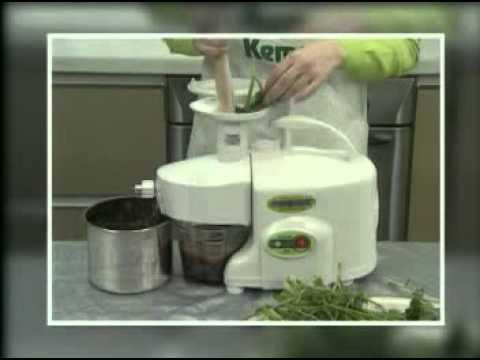 Green Power Juicer Video