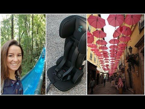 Autositz für Reise | Frankreich Urlaub mit Kindern | gabelschereblog