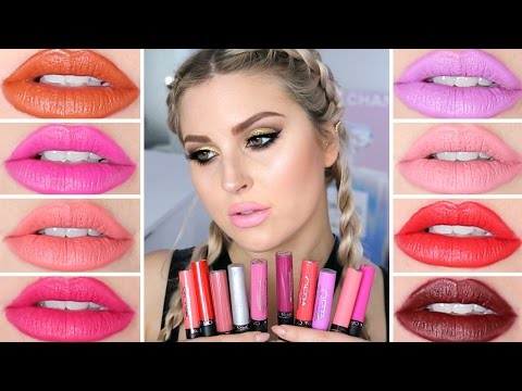 Ofra Long Lasting Liquid Lipstick ? Lip Swatch & Review!