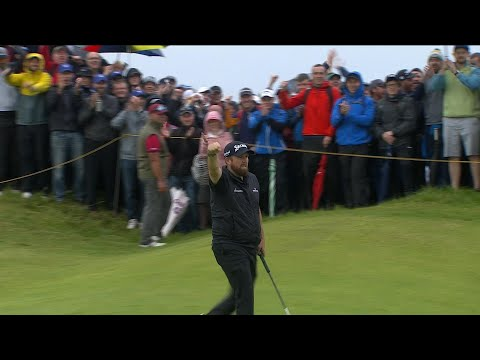 Highlights: Every shot from Lowry's second-round 67 at the 2019 Open Championship