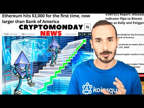 ETHEREUM e BITCOIN sulla LUNA - CryptoMonday NEWS w18/'21