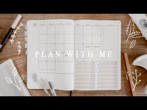 PLAN WITH ME | BULLET JOURNAL SET UP & FLIP THROUGH 2020