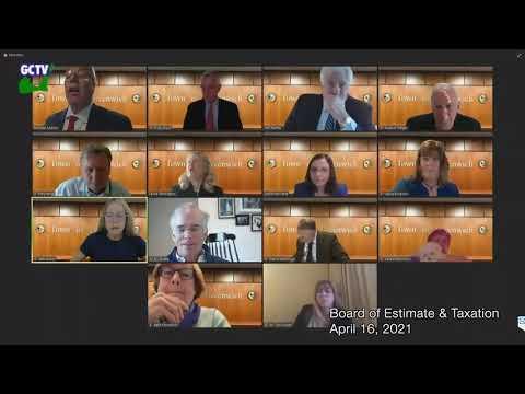 Board of Estimate & Taxation, April 16, 2021
