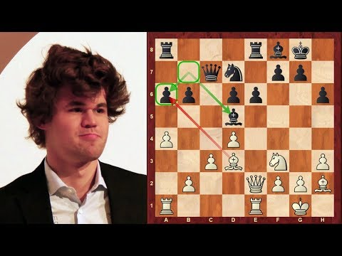 Amazing Blitz Chess: Magnus Carlsen vs Varuzhan Akobian : World Blitz Ch. (2017: London System