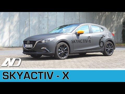 ¡Probé un motor prototipo! Mazda Skyactiv X - Primer vistazo desde Alemania