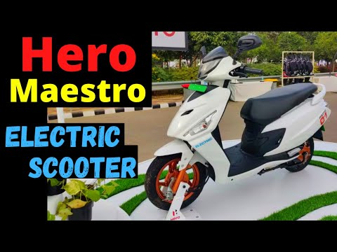 Hero Maestro Electric Scooter Launch in India 2021: eMaestro