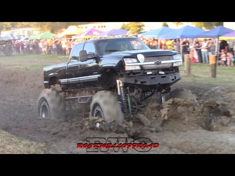 BADDEST TRACTOR MUD TRUCKS IN ZWOLLE LA PART 2!!! Poster