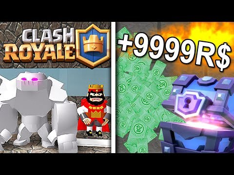 CLASH ROYALE IN ROBLOX! *SUPER EPIC*