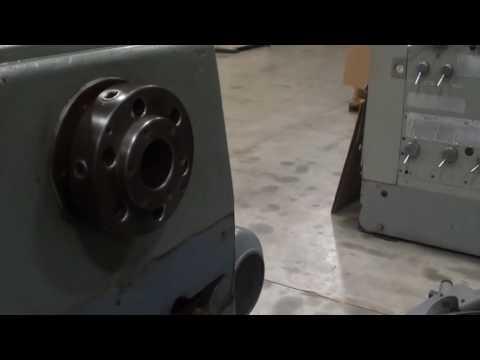 "MEUSER MODEL M3L GAP BED ENGINE LATHE, 28"" X 120"""