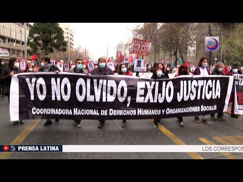 Chile exigió justicia a 48 años del Golpe de Estado a Salvador Allende