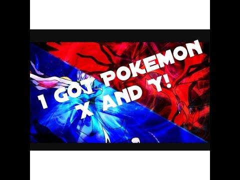 I got Pokemon X and Y!!