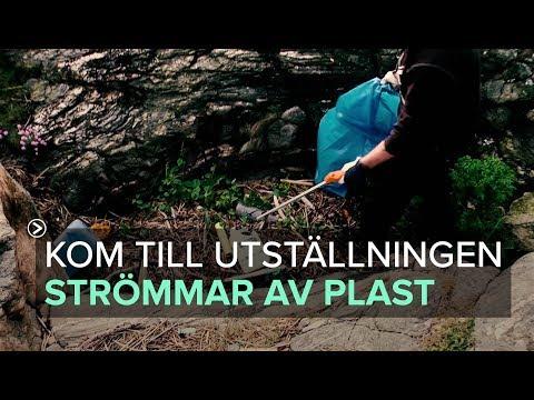 Missa inte utställningen Strömmar av plast. 24 - 30 november 2017 på Mimers Kulturhus