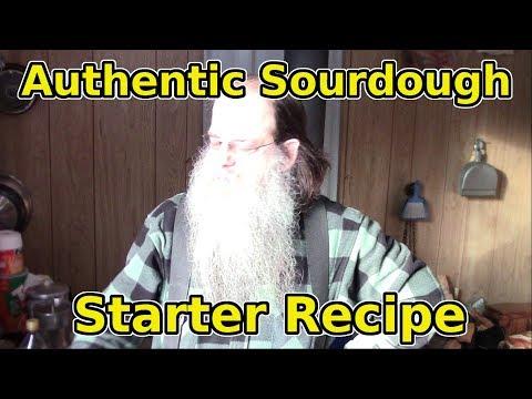 Make Authentic Historic Sourdough Starter