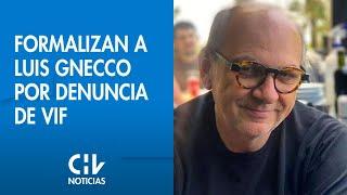 Formalizan a Luis Gnecco por denuncia de VIF y mantienen prohibición de acercarse a su ex esposa