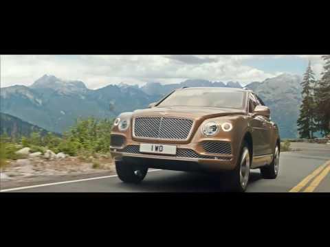 Bentley Bentayga Launch Film - The Landing