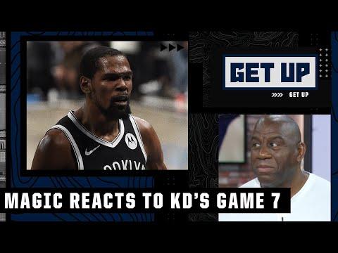 Magic Johnson calls Kevin Durant's Game 7 a 'Kobe Bryant, Michael Jordan-type performance' | Get Up
