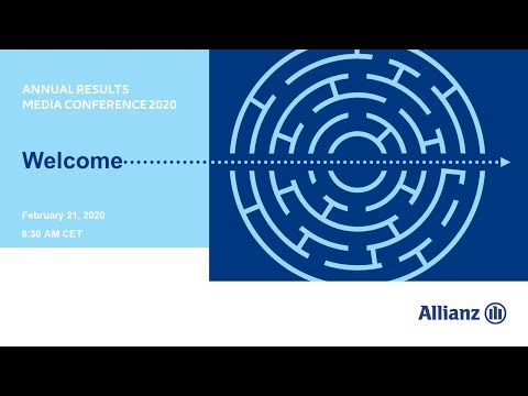 Allianz Group Annual Results Media Conference 2020