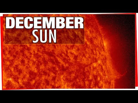 connectYoutube - December Sun - Incredible Time Lapse Video Of The Suns Surface Dec 2017