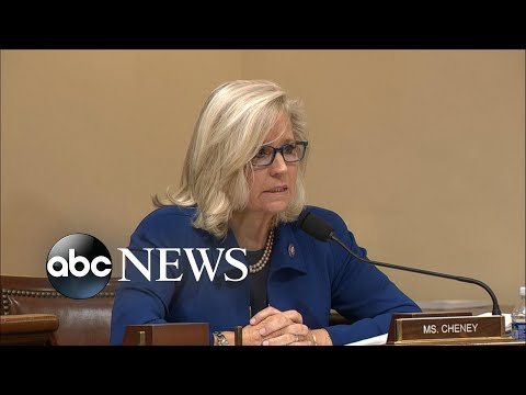Rep. Liz Cheney delivers Jan. 6 committee hearing opening remarks