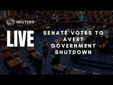 LIVE: Senate votes to avert government shutdown