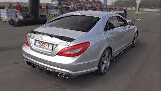 RENNtech Mercedes-Benz CLS63 AMG BiTurbo 4-MATIC w/ CRAZY LOUD Exhaust System!