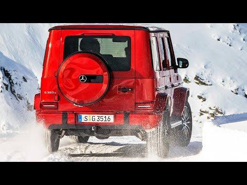 MERCEDES G-CLASS DIESEL (2019) Test on Snow