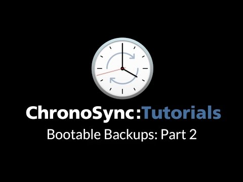 Bootable Backup Part 2