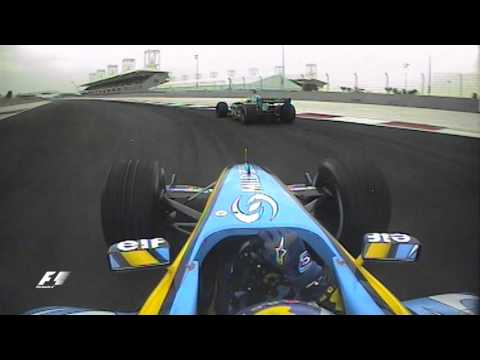 Bahrain Grand Prix 2004: Fernando Alonso v Mark Webber