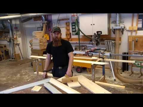 Nya golvlister och dörrfoder till Thomanderska huset