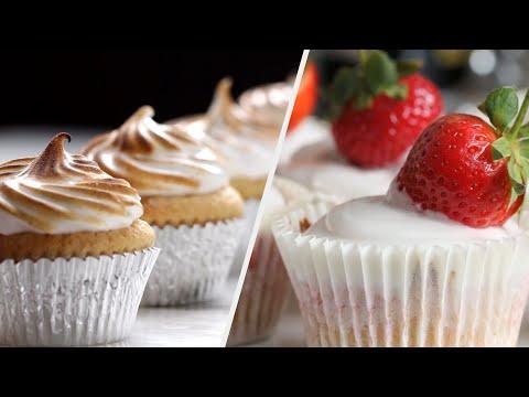 5 Brilliant & Creamy Cupcakes ?Tasty