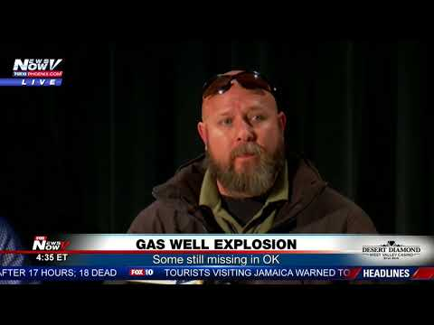 connectYoutube - GAS WELL EXPLOSION: Oklahoma rig explosion leaves 5 missing (FNN)