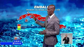 Actualización sobre situación hidrológica de Cuba