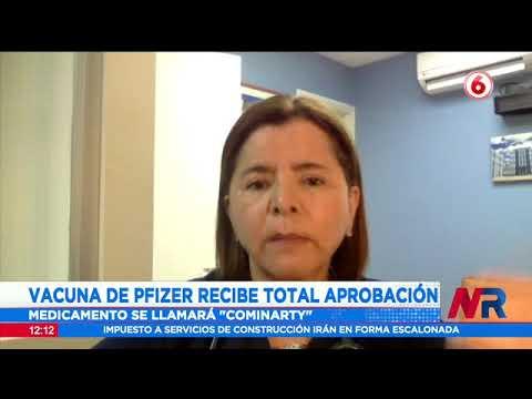 Vacuna pfizer recibe total aprobación de FDA