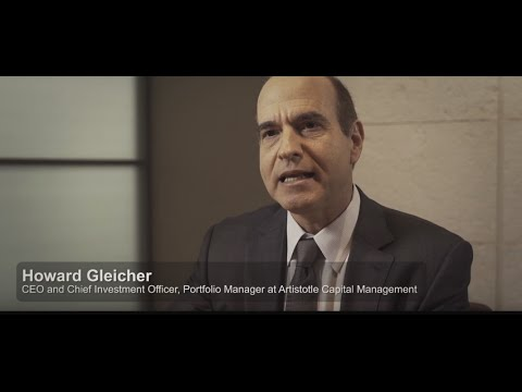 Howard Gleicher, CEO & Chief Investment Officer, discusses the Value Equity investment philosophy