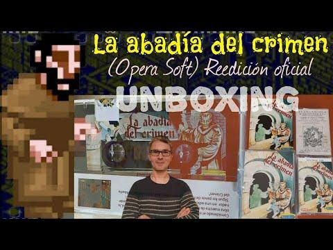 Unboxing: La Abadia del Crimen (Opera Soft) Reedición oficial