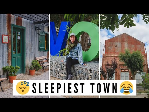 Visiting the SLEEPIEST TOWN IN PATAGONIA + Our Failed Travel Day in DOLAVON, Argentina