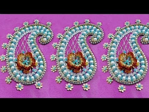 Hand Embroidery: Amazing trick with Bead work