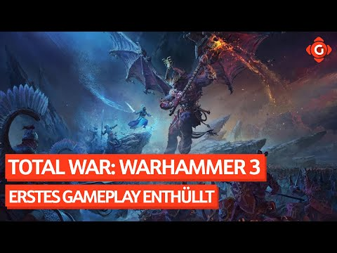 TOTAL WAR: WARHAMMER 3: Erstes Gameplay. GHOSTRUNNER: Sequel offiziell in Arbeit. | GW-News 14.05.21