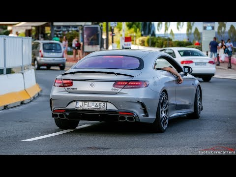 BRABUS 850 6.0 BiTurbo S63 AMG Coupe - LOUD Accelerations !