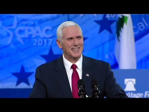 🔴LIVE: Vice President Mike Pence Speech at CPAC 2/22/18